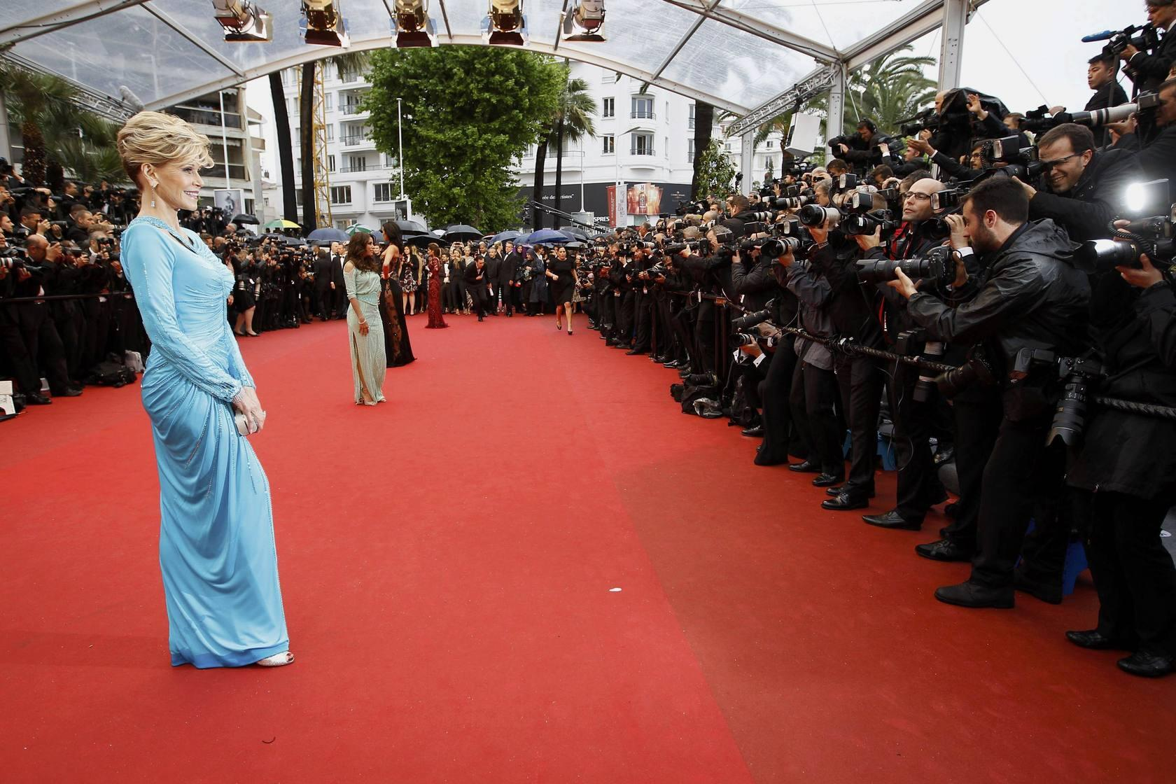 Eva Longoria acude al Festival de Cannes