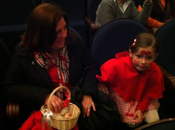 Los niños disfrutan de la gala infantil del Carnaval de Málaga