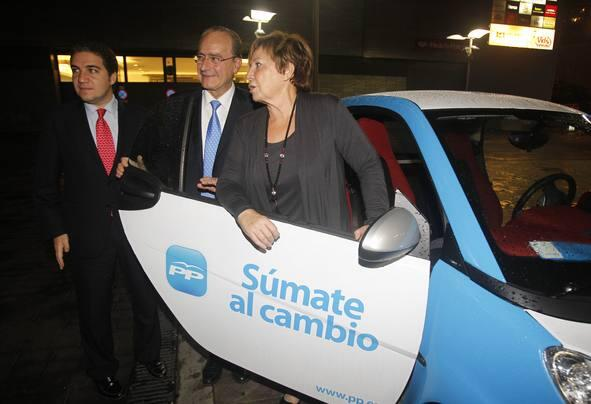 Todas las fotos del arranque de la campaña electoral en Málaga