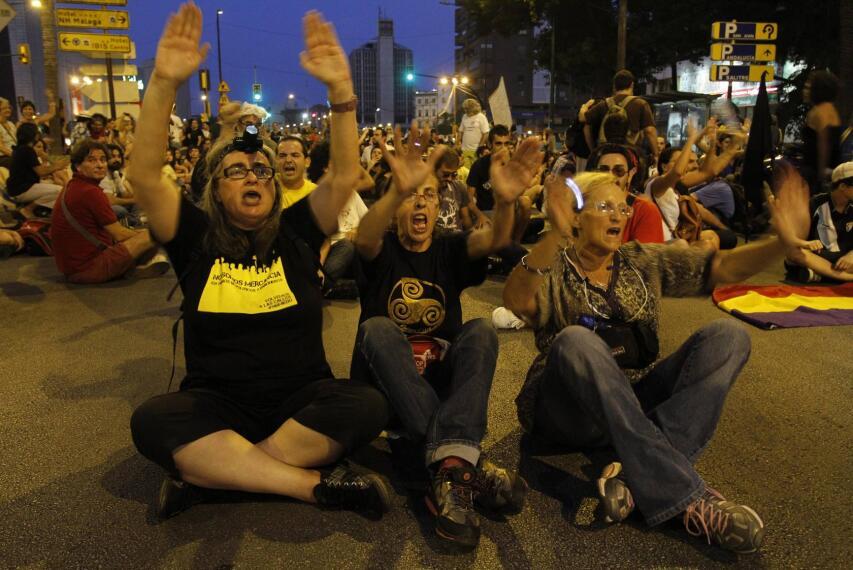 Marcha en Málaga contra los Recortes y por la Minería 1342215905712