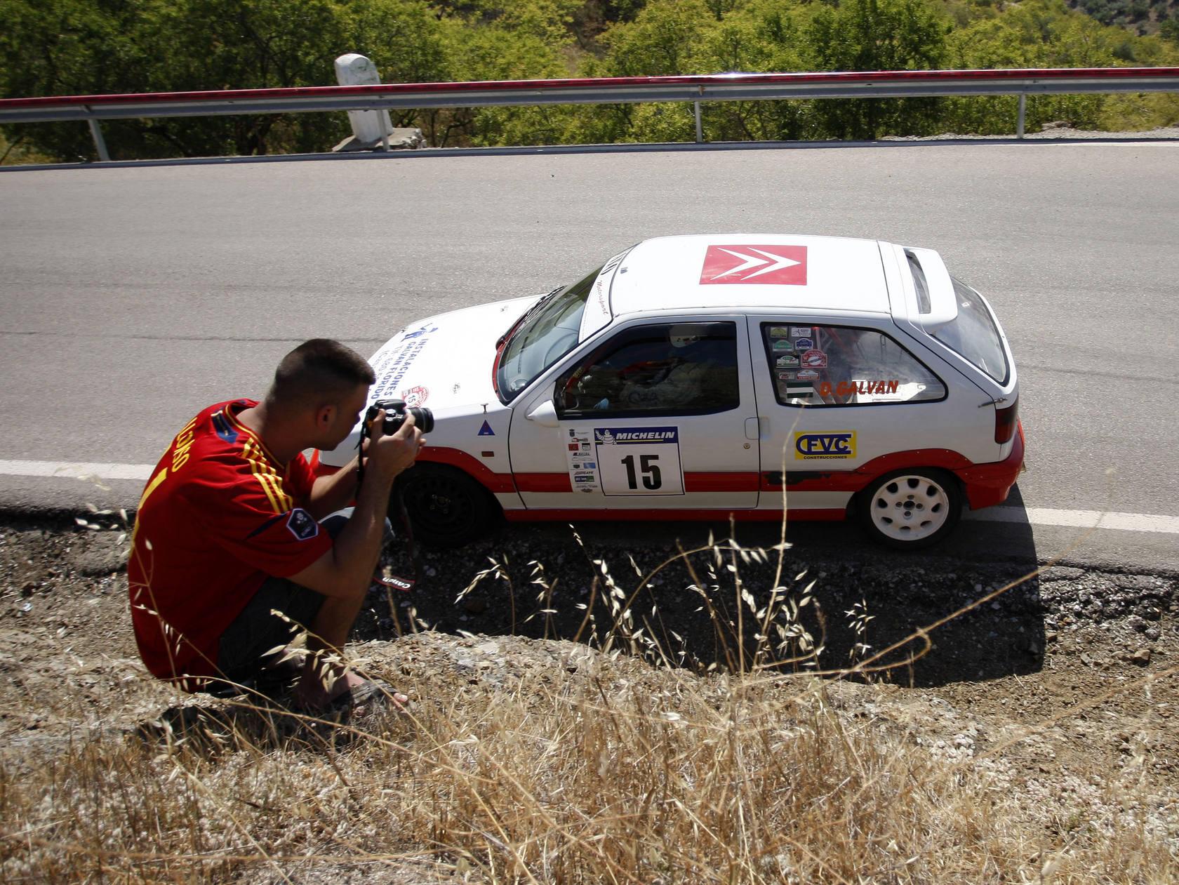 Los coches de competición se dan cita en la Subida a Colmenar