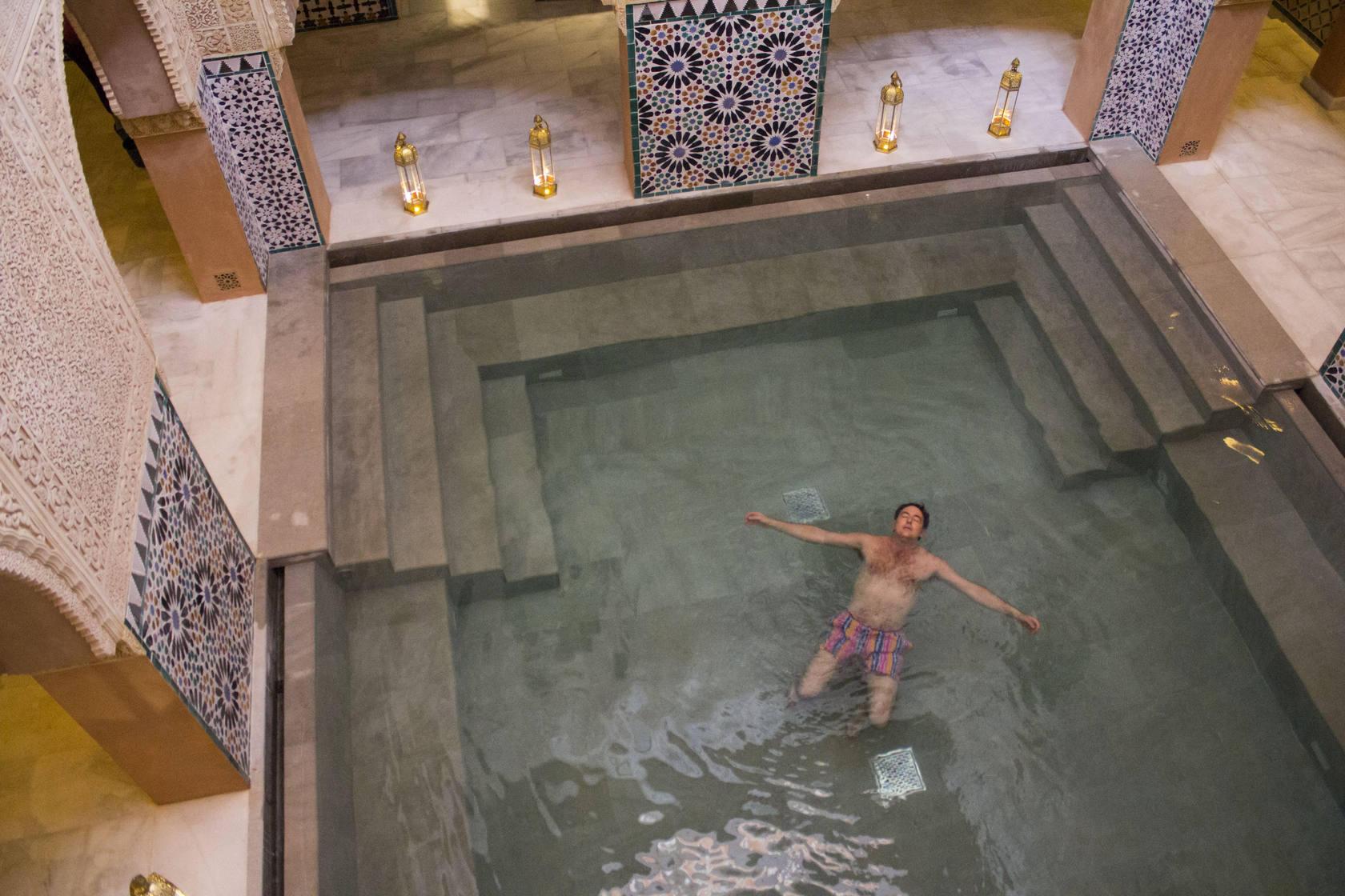 Baños Romanos Toledo:Imágenes de los nuevos baños árabes de Málaga, junto a los