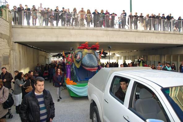 Entierro del Boquerón del Carnaval de Málaga 2012
