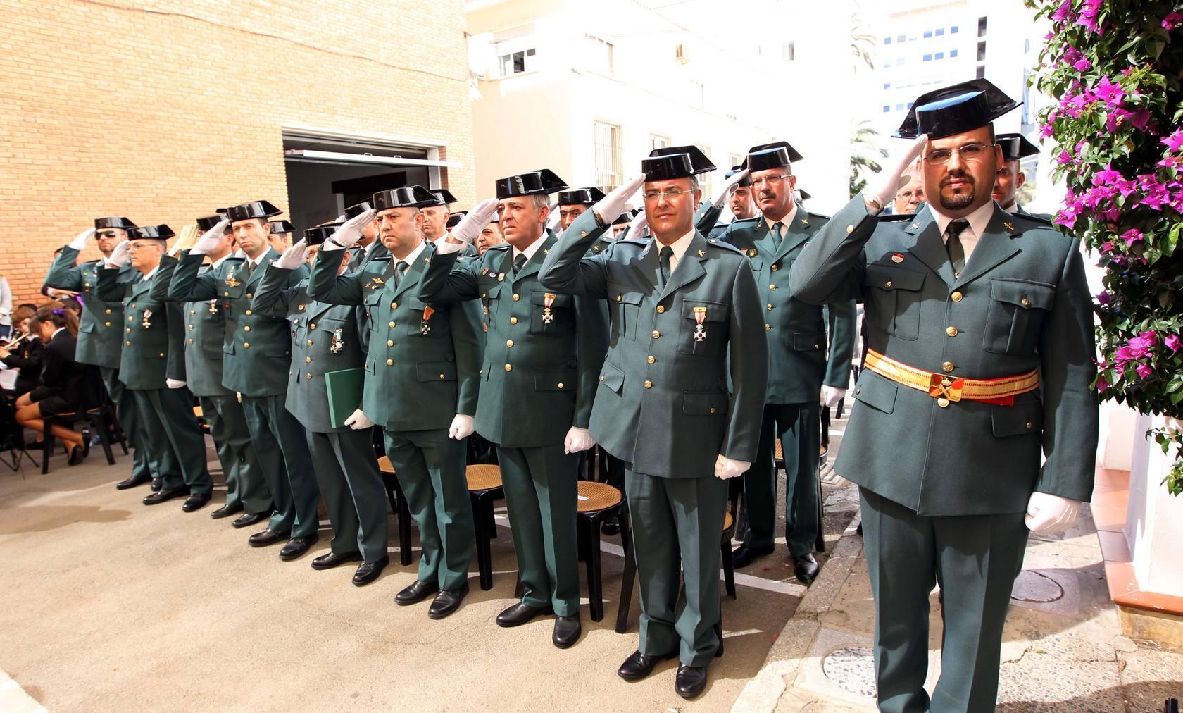 Resultado de imagen de imagenes de la Guardia civil, diario sur
