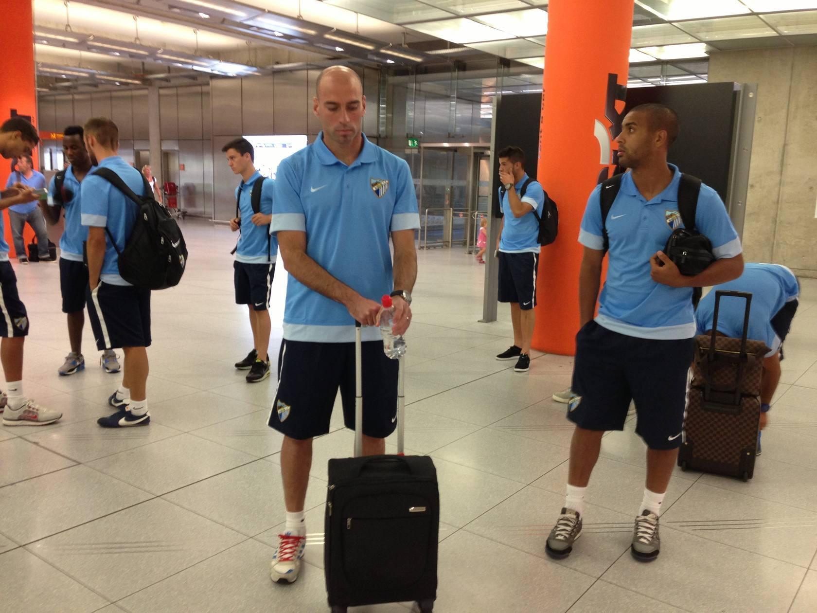 El Málaga viaja a Alemania para realizar su pretemporada