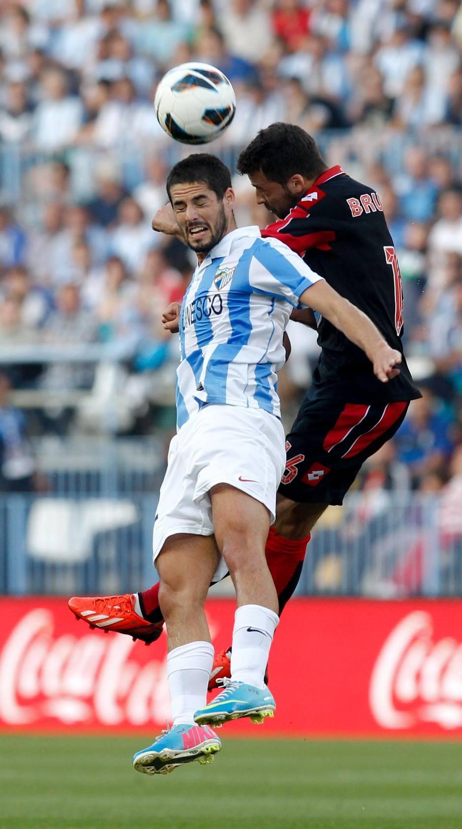 Las mejores imágenes del Málaga-Deportivo de La Coruña