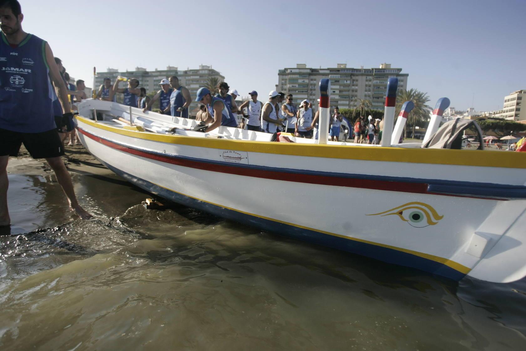 Las mejores imágenes de la regata de jábegas
