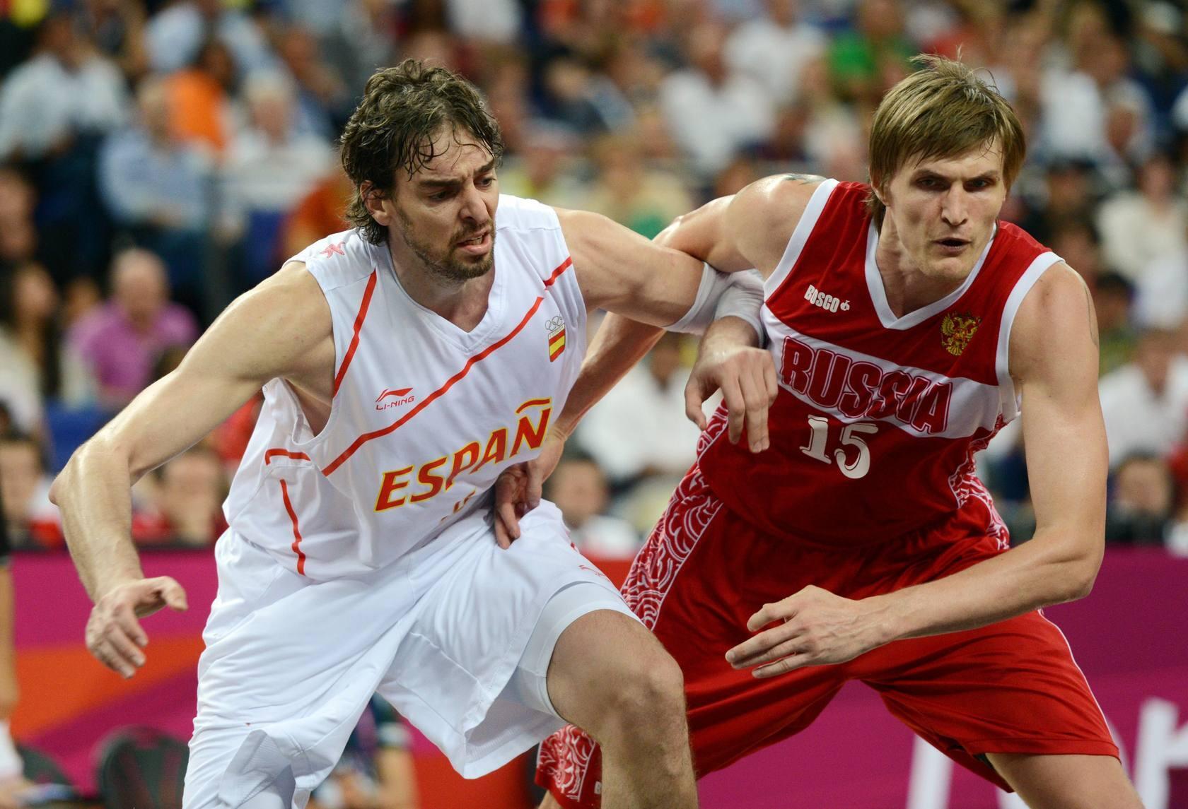 España-Rusia, en semifinales