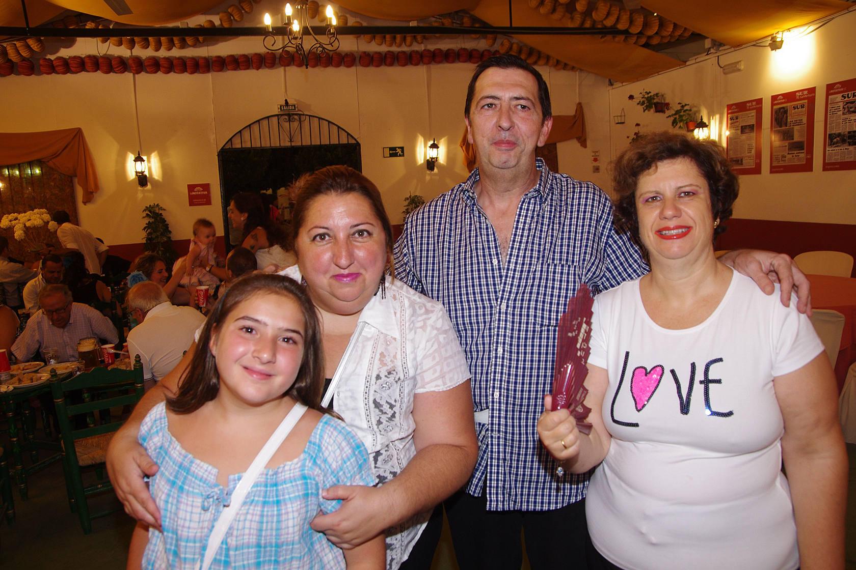 Visitas a la caseta de La Rotativa de SUR de la Feria 2012/4