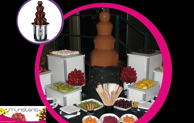 Fuente de chocolate para tus eventos