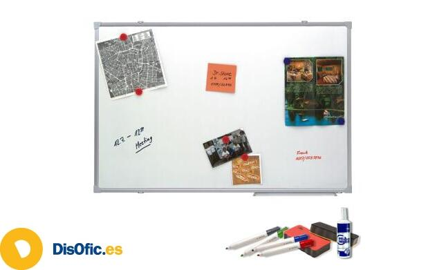 Pizarra Blanca y Kit de Accesorios
