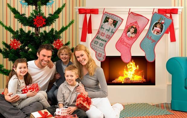 Calcetín personalizado para Navidad