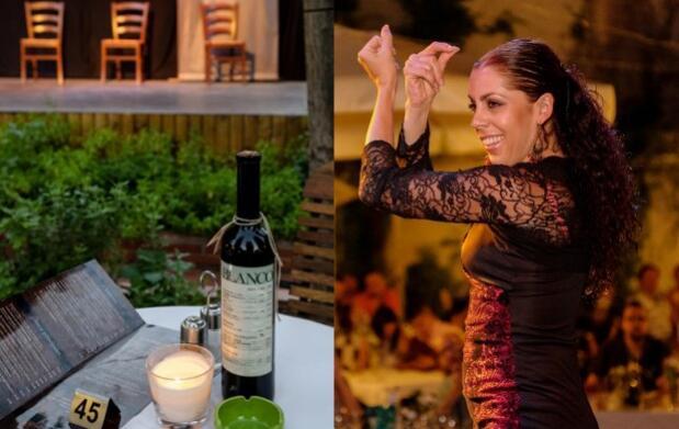 Cena y flamenco en el Albayzin