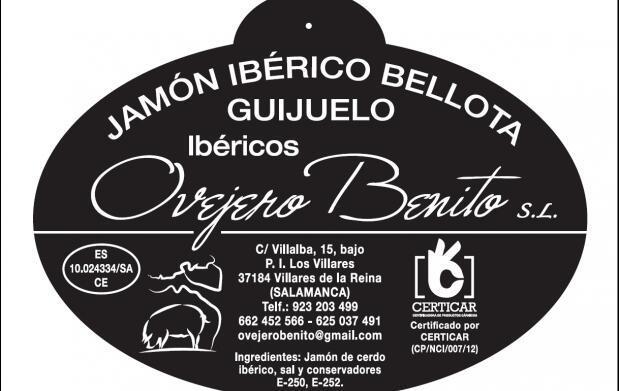 Jamón ibérico de bellota de Guijuelo
