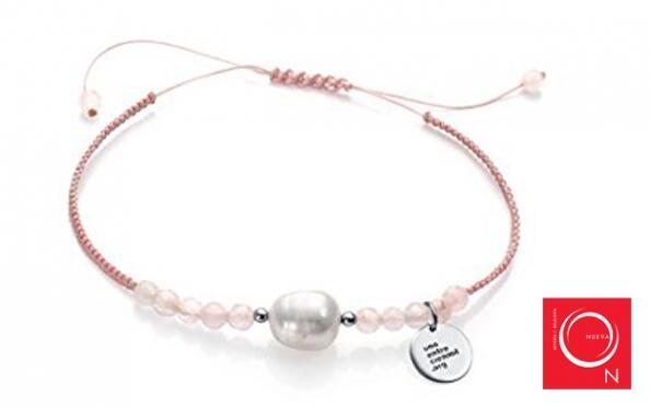 Pulsera Viceroy con perla y cuarzo para el Día de la Madre