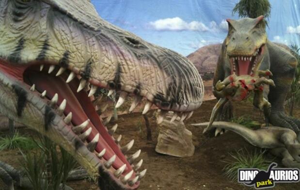 Viaja en el tiempo con Dinosaurios Park