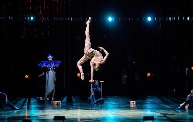 Menú en Kaleido + espectáculo Varekai de El Circo del Sol