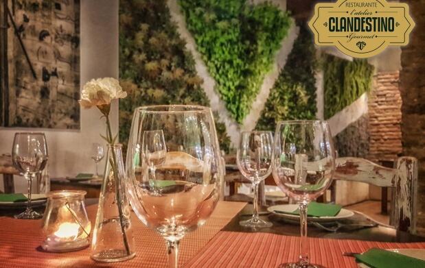 Menú para 2 en L'Atelier Clandestino Gourmet