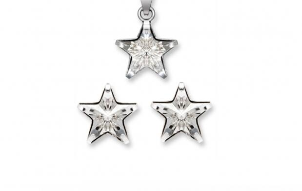 Conjunto Estrella made with Swarovski elements por 29 euros