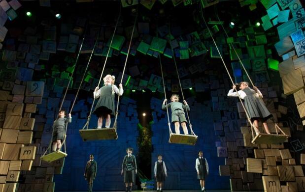 Ven a disfrutar del musical de Matilda