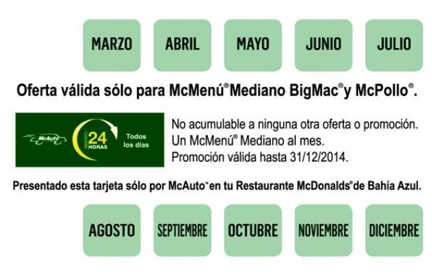 Ahora tu McMenú ® mediano por solo 1 €
