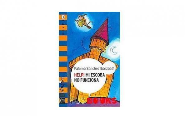 Libro infantil 'Help! Mi escoba no funciona'