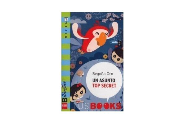 Libro infantil 'Un asunto Top Secret'