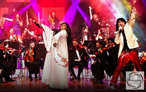 Menú individual en Kaleido + invitacion a Symphonic ABBA
