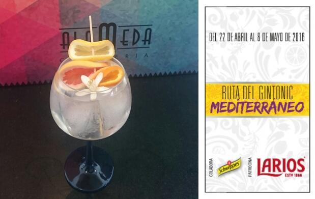 2 Gin-Tonics en Cafetería Alameda