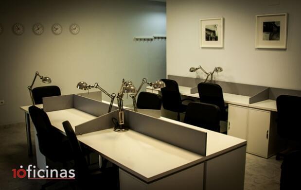 Alquiler de oficinas de coworking y despachos