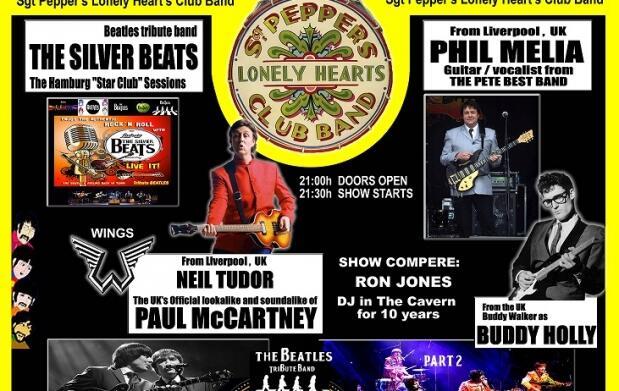 Gran homenaje a los Beatles en conmemoración al 50 aniversario del SGT Pepper