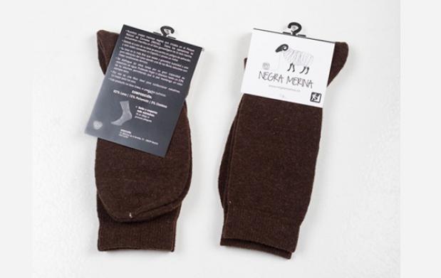 Pack 3 calcetines de lana artesanales