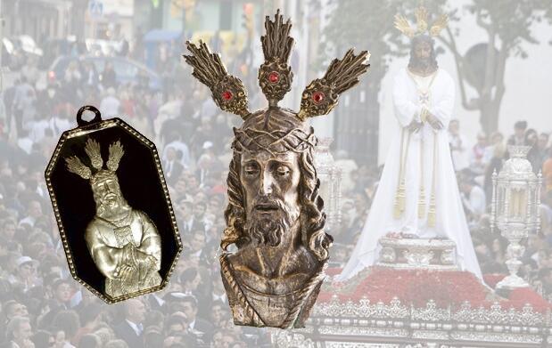 Medalla y  busto del Cautivo