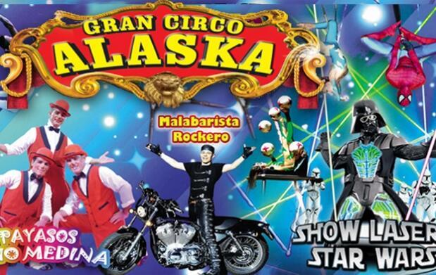 Entradas para el Gran Circo Alaska