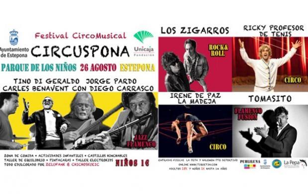 Entrada para Circuspona, festival de música y circo