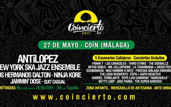 Entrada individual para Coincierto Fest