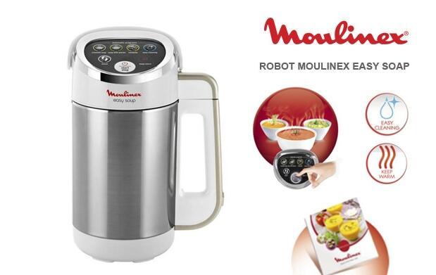 Robot Moulinex para Sopas y Cremas