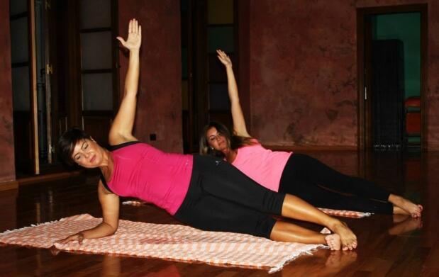 Tarde de yoga y baño árabe