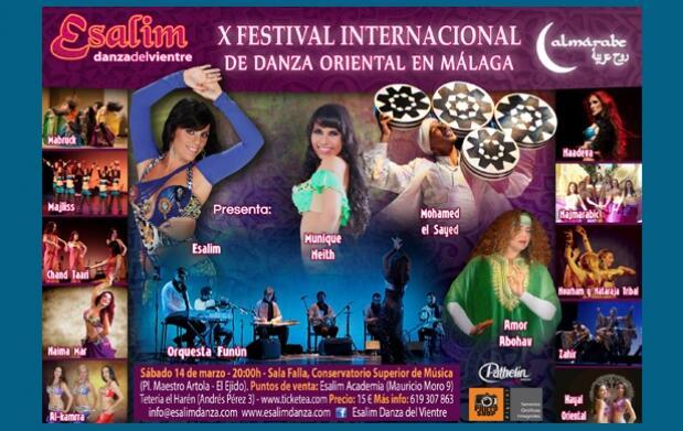 Entradas para X Festival Internacional De Danza Oriental