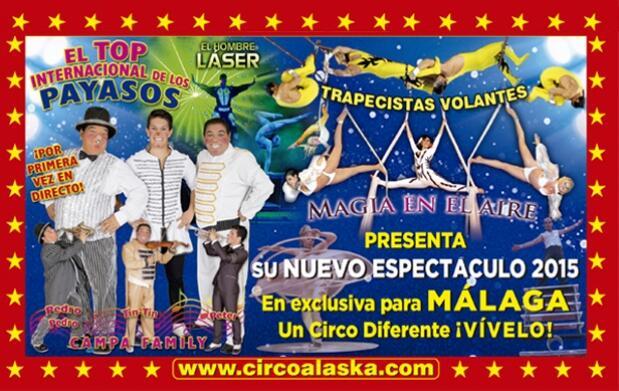 Disfruta en familia la magia del Gran Circo Alaska