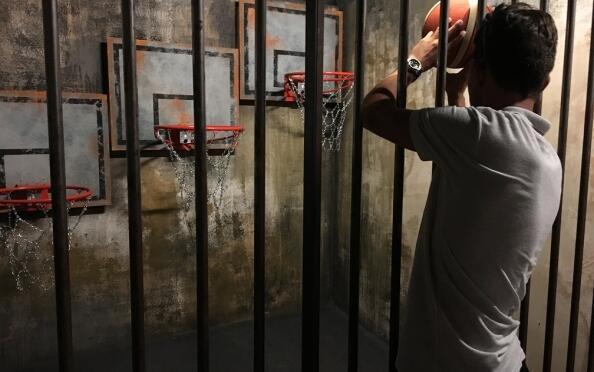 Entrada de 2 horas para el juego Prison Island