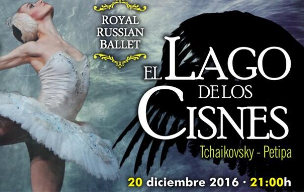 Invitación a El Lago de los Cisnes + Menú en Kaleido