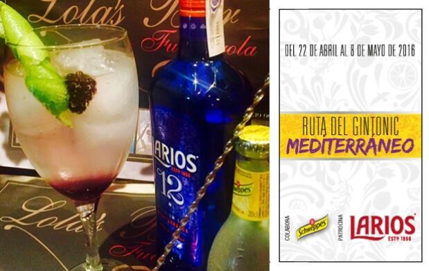 2 Gin-Tonics en Lola's Bar
