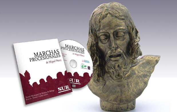 Busto de Mena, con CD de marchas