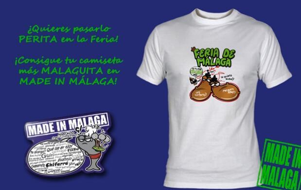 ¡Tu camiseta 'malaguita' para la Feria!