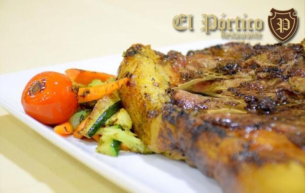 Menú castellano para 2 en El Pórtico