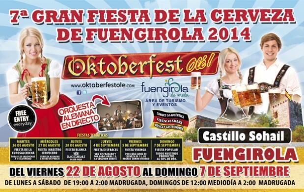 1L de cerveza y salchicha en Oktoberfest