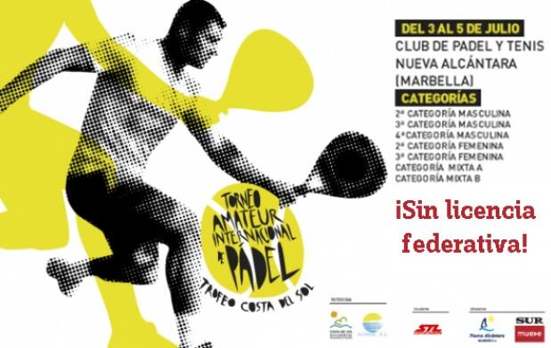 Inscríbete directamente en el Club de Pádel Nueva Alcántara