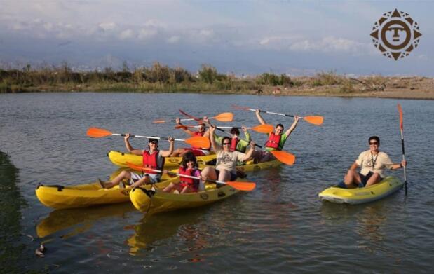 Ruta en Kayak y a Caballo por el Guadalhorce