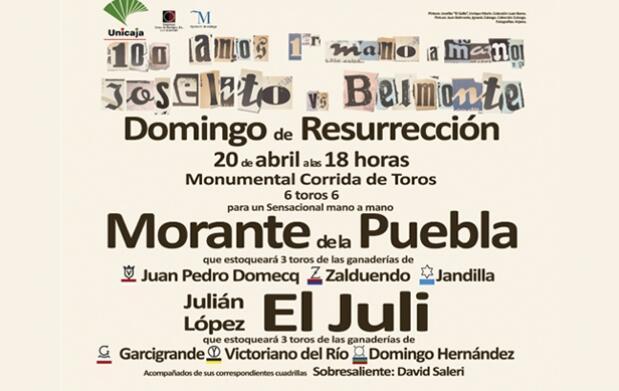 El Juli y Morante lidian en La Malagueta